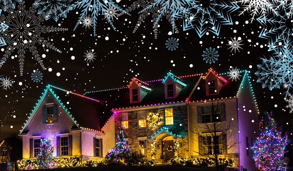 Colorado Springs Christmas Lights Guide   Timberline Landscaping