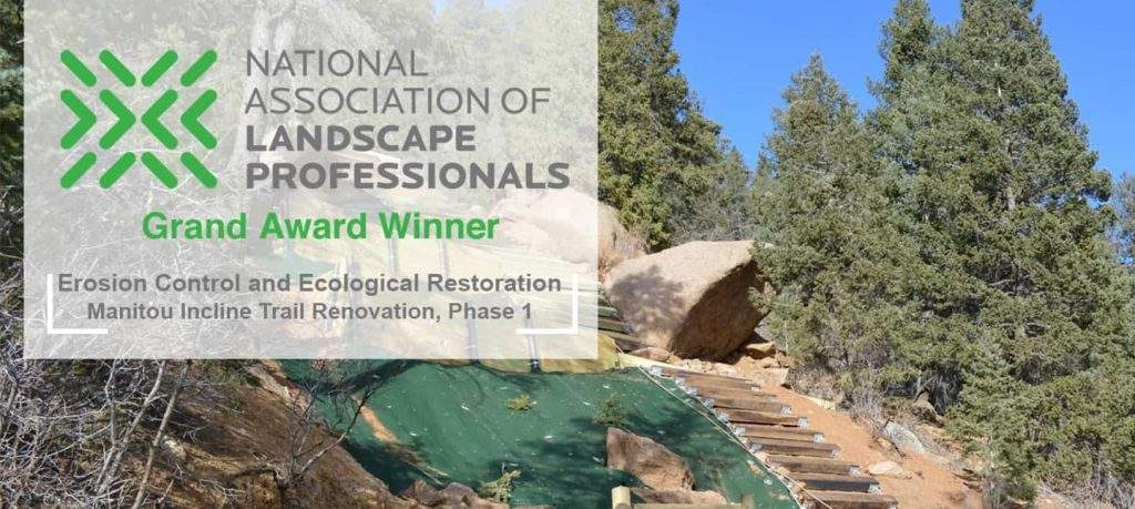 National Association of Landscape Professionals Merit Award Winner - Eco restoration