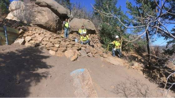 manitou incline construction