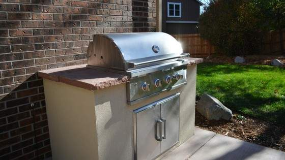 timberline outdoor grill kitchen