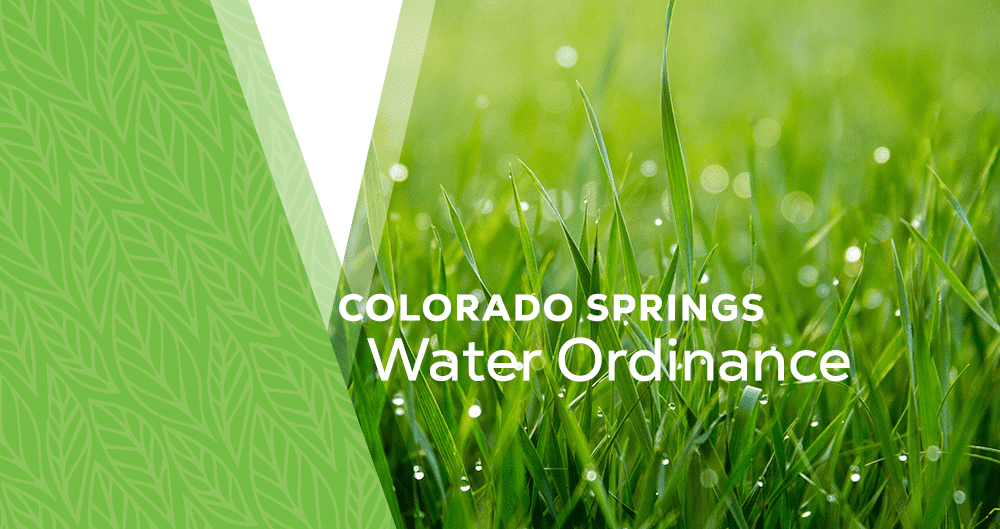What you Need to Know about the New Water Ordinance in Colorado Springs