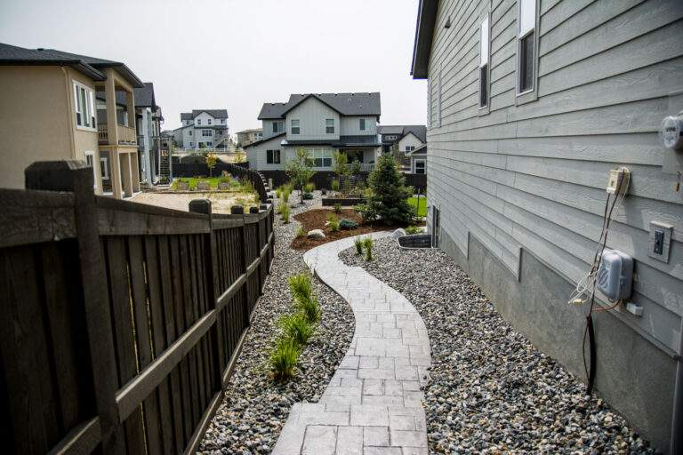 Side Yard Paved Path