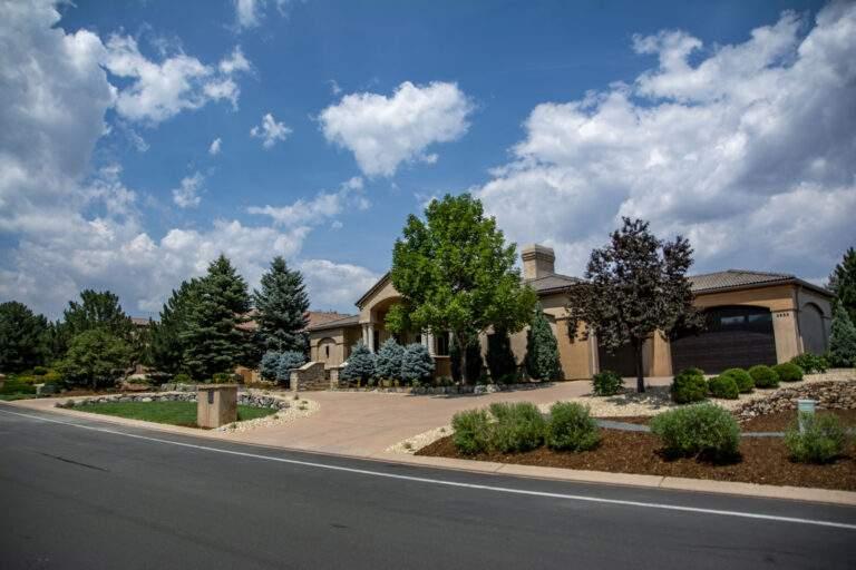 Front Driveway Landscape