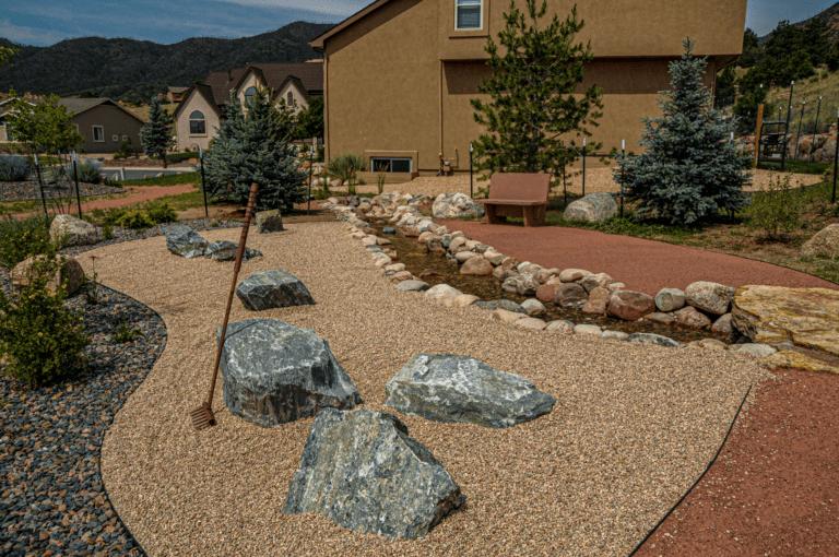 Xeriscaped Zen Garden