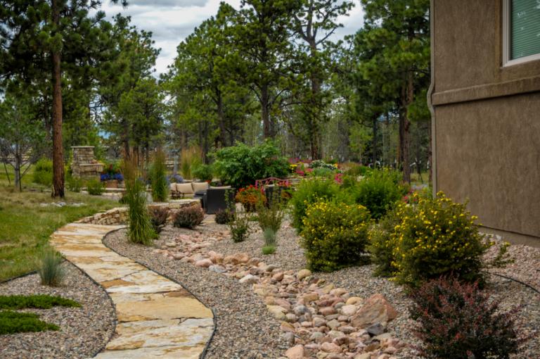 Side Stone Pathway