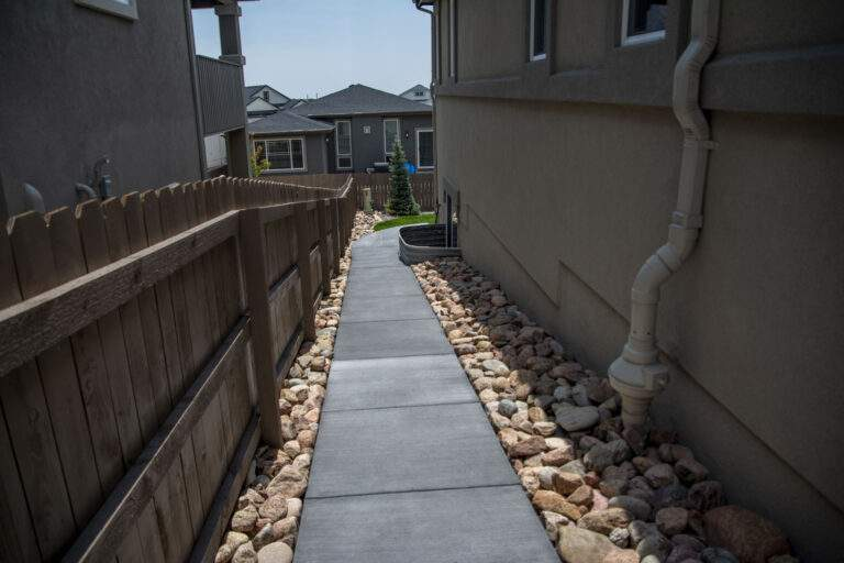 Side Path with Rock