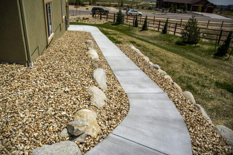 Pathway with Rock