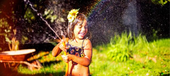 kid backyard garden hose